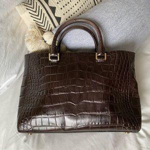 MICHAEL Michael Kors Bags - Michael Kors brown textures handbag